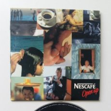 Discos de vinilo: NESCAFE OPEN UP CD MUSICA DEL SPOT DE TV 1999. Lote 79501281