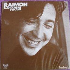 Discos de vinilo: LP - RAIMON - LLIURAMENT DEL CANT (SPAIN, MOVIEP`LAY 1977, PORTADA DOBLE). Lote 79502441