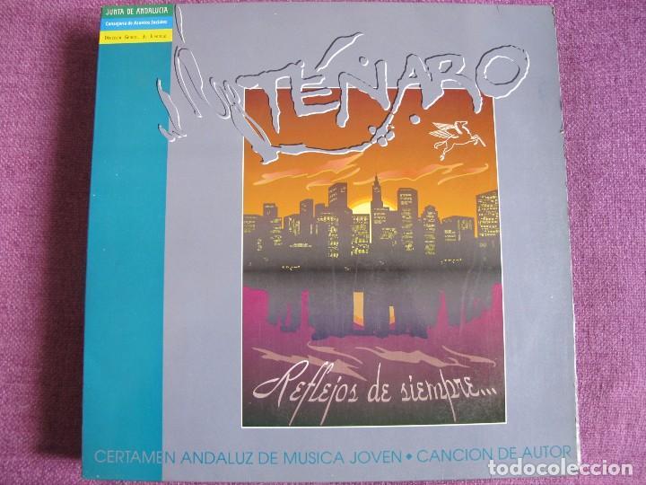 MAXI - TENARO - REFLEJOS/BALADA DE JOHNNY/EVOLUCION/UN CORAZON (SPAIN, CP DISCOS 1993) (Música - Discos de Vinilo - Maxi Singles - Grupos Españoles de los 90 a la actualidad)
