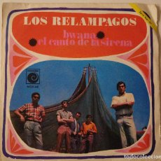 Discos de vinilo: LOS RELAMPAGOS..BWANA / EL CANTO DE LA SIRENA.(NOVOLA 1968). Lote 79551129