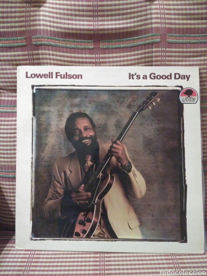 LOWELL FULSON IT'S A GOOD DAY (Música - Discos - LP Vinilo - Jazz, Jazz-Rock, Blues y R&B)