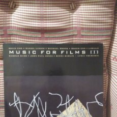 Discos de vinilo: MUSIC FOR FILMS III 9267691 BUDD, ENO, JOHN PAUL JONES, LANOIS, LAARAJI. Lote 79560950
