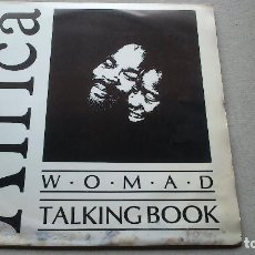 Discos de vinilo: WOMAD TALKING BOOK - VOLUME TWO AN INTRODUCTION TO AFRICA - 1985 - LP. Lote 79569629