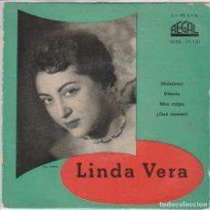 Discos de vinilo: LINDA VERA / MIENTEME + 3 (EP 1959). Lote 79585305
