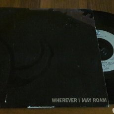 Discos de vinilo: METALLICA:WHEREVER I MAY ROAM/FADE TO BLACK (SG.7
