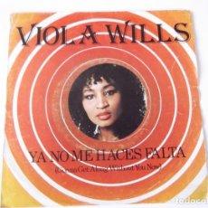 Discos de vinilo: VIOLA WILLS - GONNA GET ALONG WITHOUT YOU NOW (YA NO ME HACES FALTA). Lote 79590697