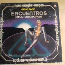 Discos de vinilo: ENCUENTROS EN LA TERCERA FASE-GENE PAGUE. Lote 79591449