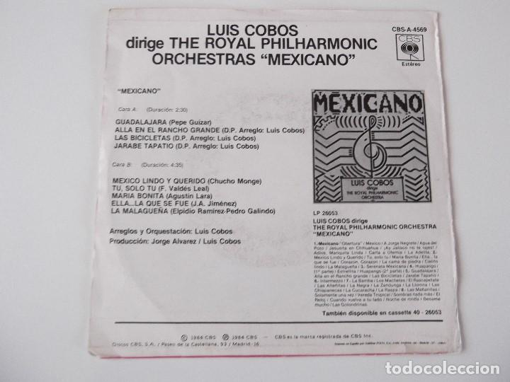 Discos de vinilo: LUIS COBOS dirige The Royal Philharmonic Orchestra - Mexicano - Foto 2 - 79591505