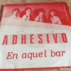 Disques de vinyle: ADHESIVO. EN AQUEL BAR. MI ILUSION. JUSTINE 1987.. Lote 79596645