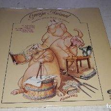 Discos de vinilo: GRANJA ANIMAL - PRIMERA OPERA ROCK EN CATALAN - 2 LP - MOVIEPLAY 1976 - GATEFOLD LIBRETO COMO NUEVO. Lote 79597481