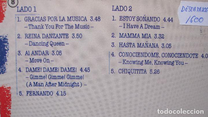 Discos de vinilo: ABBA: LP GRACIAS POR LA MUSICA, EN ESPAÑOL,1980....FUNCIONANDO - Foto 3 - 79600849