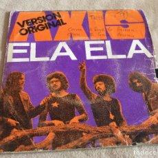 Discos de vinilo: AXIS. ELA ELA. LIVING IN. BARCLAY MOVIEPLAY 1972. Lote 79616553