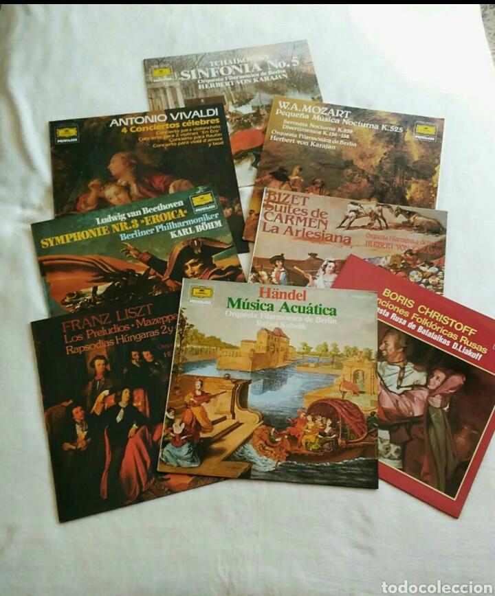 LOTE DE DISCOS DE VINILO (Música - Discos - LP Vinilo - Clásica, Ópera, Zarzuela y Marchas)