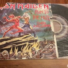 Discos de vinilo: IRON MAIDEN:RUN TO THE HILLS/TOTAL ECLIPSE (SG.7