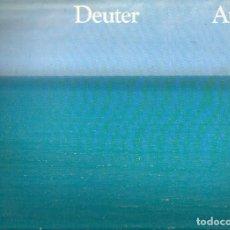 Discos de vinilo: LP DEUTER : AUM ( ELECTRONIC EXPERIMENTAL AMBIENT ). Lote 79657861