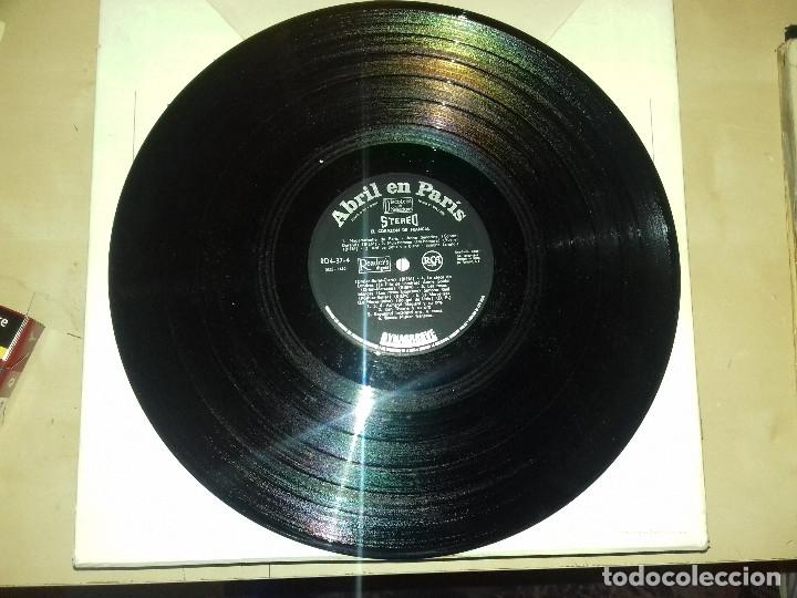 Discos de vinilo: ABRIL EN PARIS 4 LP 50 GRANDES CANCIONES FRANCESAS-ESTUCHE DE CARTON-DYNAGROOVE-READER´S DIGEST - Foto 9 - 79663261