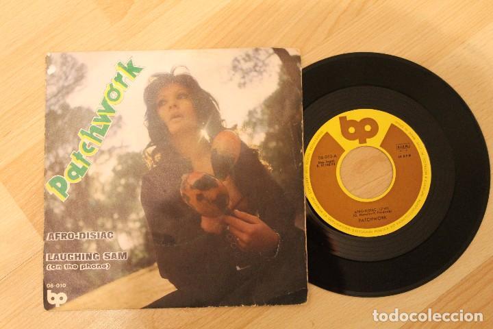PATCHWORK AFRO-DISIAC SINGLE 1972 LLEVA SELLO PROMOCIONAL (Música - Discos - Singles Vinilo - Funk, Soul y Black Music)