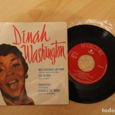 Discos de vinilo: DINAH WASHINGTON WHAT A DIFERENCE A DAY MAKES MERCURY RECORDS 1959 EXCELENTE ESTADO. Lote 79669041