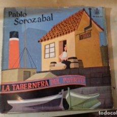 Discos de vinilo: LA TABERNERA DEL PUERTO-PABLO SOROZABAL-HISPAVOX-ALBUN 2 DISCOS-CON BIOGRAFIAS Y LIBRETO. Lote 79675589