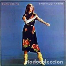 Discos de vinilo: EMMYLOU HARRYS - EVANGELINE LP. Lote 79700381