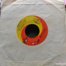 Discos de vinilo: SINGLE THE BEATLES - HELP! / I'M DOWN - CAPITOL US 1965. Lote 79721077