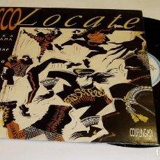 Discos de vinilo: DISCO LOCATE ALASKA DINARAMA+HOMBRES G+OLE OLE+ LOQUILLO LP 1986 HISPAVOX MOVIDA POP ROCK. Lote 79743689