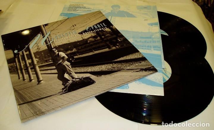 MODESTIA APARTE - MODESTAMENTE... HASTA SIEMPRE - 2 LP + ENCARTES 1994 POLYDOR (Música - Discos - LP Vinilo - Grupos Españoles de los 90 a la actualidad)