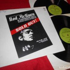Discos de vinilo: ROD MCKUEN AT CARNEGIE HALL SOLD OUT! 2LP 1969 W.BROS GATEFOLD EDICION INGLATERRA ENGLAND BSO OST. Lote 79751497