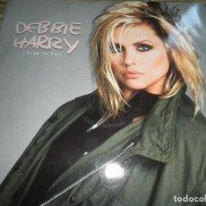 Discos de vinilo: DEBBIE HARRY (BLONDIE) - FREE TO FALL - MAXI 45 RPM - ORIGINAL INGLES - CHRYSALIS RECORDS 1985 -. Lote 79752729