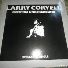 Discos de vinilo: LARRY CORYELL - MEMPHIS UNDERGROUND - MASI 45 RPM - ORIGINAL INGLES - BARCLAY 1978 - EGG. Lote 79753737