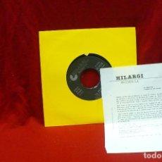 Discos de vinilo: LA RENDICION - JUGAR EN LAS CALLES, CALLE ESTACION, HILARGI RECORDS, DEL 1991. Lote 79767305