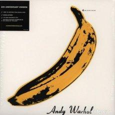 Discos de vinilo: LP THE VELVET UNDERGROUND AND NICO PEEL COVER VINYL 180 FROM THE ORIGINAL TAPES. Lote 156475042