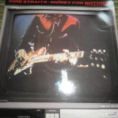 Discos de vinilo: DIRE STRAITS - MONEY FOR NOTHING - MAXI 45 R.P.M. - ORIGINAL INGLES - VERTIGO RECORDS 1987 -. Lote 79783029