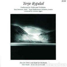 Discos de vinilo: TERJE RYPDAL UNDISONUS/INEO ECM 1389 IMPORT 1990. Lote 79783995
