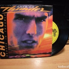 Discos de vinilo: CHICAGO HEARTS IN TROUBLE SINGLE SPAIN 1990 PDELUXE. Lote 79784549
