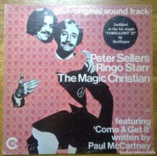 Discos de vinilo: THE MAGIC CHRISTIAN OST. PETER SELLERS/ RINGO STARR LP 1969 EDICION USA. Lote 79785013