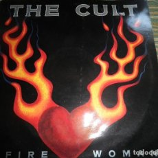 Discos de vinilo: THE CULT - FIRE WOMAN - MAXI 45 R.P.M - ORIGINAL INGLES - BEGGAR BANQUET RECORDS 1989 -. Lote 79791169