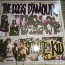 Discos de vinilo: THE DOGS D´AMOUR - MAXI 45 R.P.M - ORIGINAL INGLES - CHINA RECORDS 1989 - MUY NUEVO (5) -. Lote 79792533