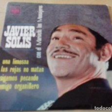Discos de vinilo: JAVIER SOLÍS CON LOS MARIACHIS LOS MENSAJEROS -1966 - UNA LISMOSNA/LAS REJAS NO MATAN/SIGAMOS PECAND. Lote 79797601