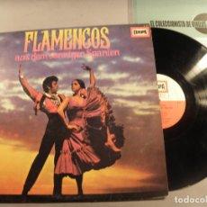 "Discos de vinilo: DIE FLAMENCO-GRUPPE ""ANTONIO ARENAS""* ?– FLAMENCOS AUS DEM SONNIGEN SPANIE - LP. Lote 79799481"