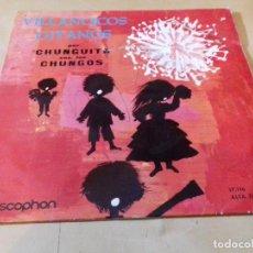 Discos de vinilo: VILLANCICOS GITANOS CHUNGUITA CON LOS CHUNGOS. Lote 79800689
