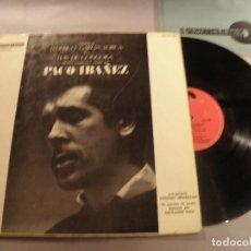 Discos de vinilo: PACO IBAÑEZ ?– POÈMES DE FEDERICO GARCIA LORCA Y GONGORA LP POLYDOR ?1964 ED. FR. Lote 79806521