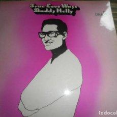 Discos de vinilo: BUDDY HOLLY - TRUE LOVE WAYS LP - EDICION INGLESA - MCA RECORDS 1968 - MONOAURAL. Lote 79816061