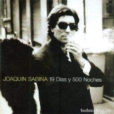 Discos de vinilo: LP JOAQUIN SABINA 19 DIAS Y 500 NOCHES 2LP NUEVO PRECINTADO. Lote 98245404