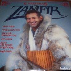 Discos de vinilo: LP DE ZAMFIR, CHRISTMAS WITH... EDICION MERCURY DE 1984 (USA). NUEVO PRECINTADO.. Lote 79857465