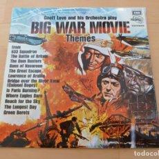 Discos de vinilo: LP GEOFF LOVE AND HIS ORCHESTRA BIG WAR MOVIE THEMES EMI 1973 BUEN ESTADO. Lote 79863633