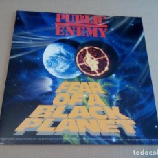 Discos de vinilo: ENEMY PUBLIC - FEAR OF A BLACK PLANET (LP REEDICIÓN, DEF JAM RECORDINGS 466281 1) NUEVO. Lote 180499301