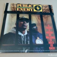 Discos de vinilo: ENEMY PUBLIC - IT TAKES A NATION OF MILLIONS TO HOLD US BACK (LP DEF JAM RECORDINGS 462415 1) NUEVO. Lote 79864505