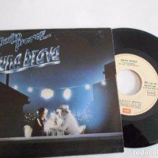 Disques de vinyle: GATO PEREZ-SINGLE LUNA BRAVA PROMO 1983-NUEVO. Lote 79872225