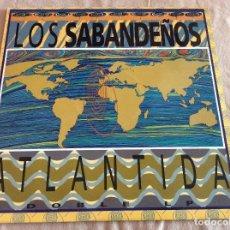 Discos de vinilo: LOS SABANDEÑOS. ATLÁNTIDA. DOBLE LP. MANZANA 1994. ENCARTE CON LETRAS.. Lote 79872493